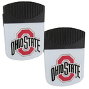 Siskiyou Buckle Ohio St. Buckeyes Chip Clip Magnet with Bottle Opener, 2 pack, 2CPMC38