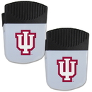Siskiyou Buckle Indiana Hoosiers Chip Clip Magnet with Bottle Opener, 2 pack, 2CPMC39