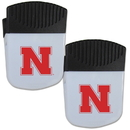 Siskiyou Buckle Nebraska Cornhuskers Chip Clip Magnet with Bottle Opener, 2 pack, 2CPMC3