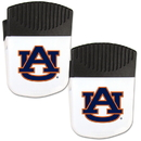 Siskiyou Buckle Auburn Tigers Chip Clip Magnet with Bottle Opener, 2 pack, 2CPMC42