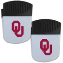 Siskiyou Buckle Oklahoma Sooners Chip Clip Magnet with Bottle Opener, 2 pack, 2CPMC48
