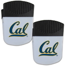 Siskiyou Buckle Cal Berkeley Bears Chip Clip Magnet with Bottle Opener, 2 pack, 2CPMC56