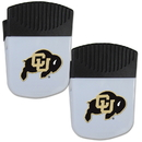 Siskiyou Buckle Colorado Buffaloes Chip Clip Magnet with Bottle Opener, 2 pack, 2CPMC57