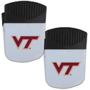 Siskiyou Buckle Virginia Tech Hokies Chip Clip Magnet with Bottle Opener, 2 pack, 2CPMC61