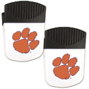 Siskiyou Buckle Clemson Tigers Chip Clip Magnet with Bottle Opener, 2 pack, 2CPMC69