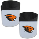 Siskiyou Buckle Oregon St. Beavers Chip Clip Magnet with Bottle Opener, 2 pack, 2CPMC72