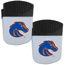 Siskiyou Buckle Boise St. Broncos Chip Clip Magnet with Bottle Opener, 2 pack, 2CPMC73