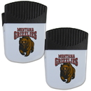 Siskiyou Buckle Montana Grizzlies Chip Clip Magnet with Bottle Opener, 2 pack, 2CPMC75