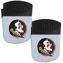 Siskiyou Buckle Florida St. Seminoles Chip Clip Magnet with Bottle Opener, 2 pack, 2CPMC7