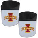 Siskiyou Buckle Iowa St. Cyclones Chip Clip Magnet with Bottle Opener, 2 pack, 2CPMC83