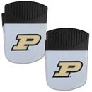 Siskiyou Buckle Purdue Boilermakers Chip Clip Magnet with Bottle Opener, 2 pack, 2CPMC84