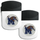 Siskiyou Buckle Memphis Tigers Clip Magnet with Bottle Opener, 2 pack, 2CRMC103