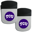 Siskiyou Buckle TCU Horned Frogs Clip Magnet with Bottle Opener, 2 pack, 2CRMC112