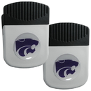 Siskiyou Buckle Kansas St. Wildcats Clip Magnet with Bottle Opener, 2 pack, 2CRMC15