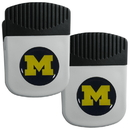 Siskiyou Buckle Michigan Wolverines Clip Magnet with Bottle Opener, 2 pack, 2CRMC36
