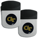 Siskiyou Buckle Georgia Tech Yellow Jackets Clip Magnet with Bottle Opener, 2 pack, 2CRMC44