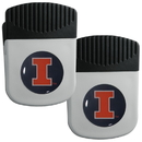Siskiyou Buckle Illinois Fighting Illini Clip Magnet with Bottle Opener, 2 pack, 2CRMC55