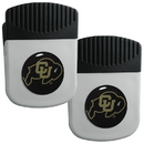 Siskiyou Buckle Colorado Buffaloes Clip Magnet with Bottle Opener, 2 pack, 2CRMC57