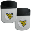 Siskiyou Buckle W. Virginia Mountaineers Clip Magnet with Bottle Opener, 2 pack, 2CRMC60