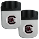 Siskiyou Buckle S. Carolina Gamecocks Clip Magnet with Bottle Opener, 2 pack, 2CRMC63