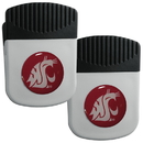 Siskiyou Buckle Washington St. Cougars Clip Magnet with Bottle Opener, 2 pack, 2CRMC71