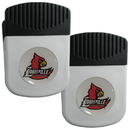 Siskiyou Buckle Louisville Cardinals Clip Magnet with Bottle Opener, 2 pack, 2CRMC88