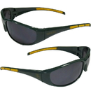 Siskiyou Buckle 2CSG115 Baylor Bears Wrap Sunglasses