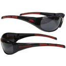 Siskiyou Buckle 2CSG12 Arkansas Razorbacks Wrap Sunglasses