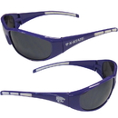 Siskiyou Buckle 2CSG15 Kansas St. Wildcats Wrap Sunglasses