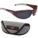 Siskiyou Buckle 2CSG26CS Texas A & M Aggies Wrap Sunglass and Case Set