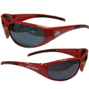 Siskiyou Buckle 2CSG38 Ohio St. Buckeyes Wrap Sunglasses