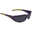 Siskiyou Buckle 2CSG43 LSU Tigers Wrap Sunglasses