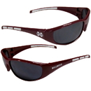 Siskiyou Buckle 2CSG45 Mississippi St. Bulldogs Wrap Sunglasses