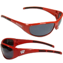 Siskiyou Buckle 2CSG51 Wisconsin Badgers Wrap Sunglasses