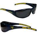 Siskiyou Buckle 2CSG60 W. Virginia Mountaineers Wrap Sunglasses
