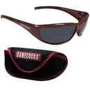 Siskiyou Buckle 2CSG63CS S. Carolina Gamecocks Wrap Sunglass and Case Set