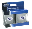 Siskiyou Buckle 2CSQS35 Kentucky Wildcats Shot Glass Set