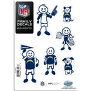 Siskiyou Buckle 2FFSD040 San Diego Chargers Family Decal Set Small