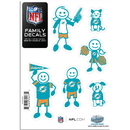 Siskiyou Buckle 2FFSD060 Miami Dolphins Family Decal Set Small
