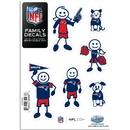 Siskiyou Buckle 2FFSD120 New England Patriots Family Decal Set Small