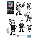 Siskiyou Buckle 2FFSD125 Oakland Raiders Family Decal Set Small