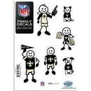 Siskiyou Buckle 2FFSD150 New Orleans Saints Family Decal Set Small