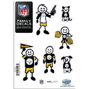 Siskiyou Buckle 2FFSD160 Pittsburgh Steelers Family Decal Set Small