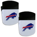 Siskiyou Buckle Buffalo Bills Chip Clip Magnet with Bottle Opener, 2 pack, 2FPMC015
