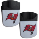 Siskiyou Buckle Tampa Bay Buccaneers Chip Clip Magnet with Bottle Opener, 2 pack, 2FPMC030