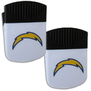 Siskiyou Buckle Los Angeles Chargers Chip Clip Magnet with Bottle Opener, 2 pack, 2FPMC040