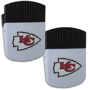 Siskiyou Buckle Kansas City Chiefs Chip Clip Magnet with Bottle Opener, 2 pack, 2FPMC045