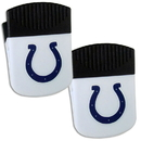 Siskiyou Buckle Indianapolis Colts Chip Clip Magnet with Bottle Opener, 2 pack, 2FPMC050