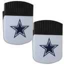 Siskiyou Buckle Dallas Cowboys Chip Clip Magnet with Bottle Opener, 2 pack, 2FPMC055