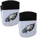 Siskiyou Buckle Philadelphia Eagles Chip Clip Magnet with Bottle Opener, 2 pack, 2FPMC065